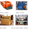 Even granularity crusher/copper ore crusher/hard rock crusher/rock-on-rock crusher