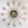 """2013 New Modern Home Decorative 12"""" Round Quartz Wall Clock Metal Retro Wall Clock for Home Decor"""