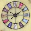 "2013 New Modern Home Decorative 12"" Round Quartz Wall Clock Retro Wall Clock"
