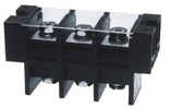 Double Side Barrier Terminal Blocks 600V 170A 27.0mm Pin Spacing with Plastic Cover (KF67S)