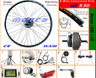 Engine Kit with Front Motor 250W Big LCD Display (MK530)