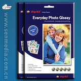 Factory direct sale 115gsm to 260gsm Cast coated glossy photo paper