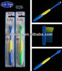 Katong corn shape Nylon 610 filaments Kids Toothbrush factory