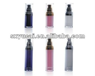 30ml 50ml 120ml round Acrylic Airless Container for Cosmetics,Acrylic lotion bottle