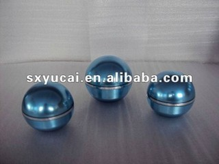 ball shape empty acrylic cosmetic jar