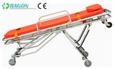 DW-AL007 folding ambulance stretcher carts/aluminum alloy hospital stretcher trolley