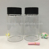 50ml glass test tube bottle with cap