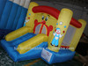 Indoor Family inflatable bounce and slide