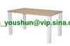hot selling white high gloss dining table competitive price