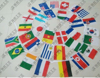 Polyester Pennant String Flags