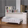 GJ3001 side fold wall bed horizontal murphy bed hidden bed