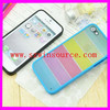 Rainbow mobile phone case/phone shell for iphone 5/5s PC+TPU protective cover