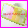 Rainbow mobile phone case for Samsung galaxy i9300/PC+TPU protective cover