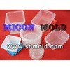 thin wall mold, plastic injection mold