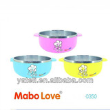 double layer kid bowl
