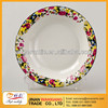"wholesale 9.25"" upsiding down edge plate/ceramic soup plate /salad bowl /ceramic bowl/ soup bowl/ mug plate/ FDA SGS"