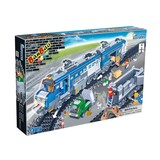 Building blocks of transportation set 1275 pcs