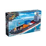 Building blocks of transportation set 716 pcs