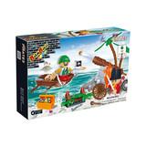 Building blocks of Pirates set 140 pcs