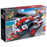 Construction building blocks of Turbo Power(pull back car) 105 pcs