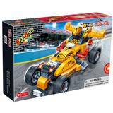 Construction building blocks of Turbo Power(pull back car) 132 pcs