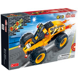 Construction building blocks of Turbo Power(pull back car) 66 pcs