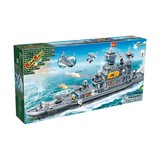 Construction building blocks of Defence Force 1700 pcs