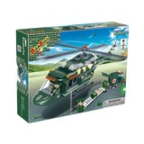 Construction building blocks of Defence Force 263 pcs