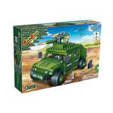Construction building blocks of Defence Force 203 pcs