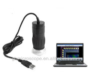 2.0MP Mini Digital USB Microscope With 8 pcs LED ring Lamp