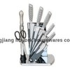 8 pcs knife set with acrylic block