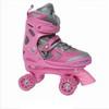 Kid's semi soft adjustable roller skate