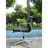 Eames aluminium chair soft pad low back, eames executive chair
