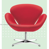 High grade Swan office chair, leisure chair available in leather,wool