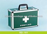 RD 101 Aluminum First Aid Box