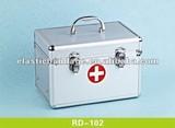 RD 102 Aluminum First Aid Box