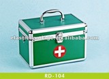 RD 104 Aluminum First Aid Box