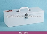 RD 305 Metal Empty First Aid Box
