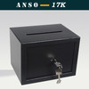 mini coin slot key safe box security equipment