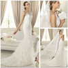 Lace Mermaid Wedding Dress (XZ464)
