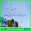 Wind solar hybrid system street light
