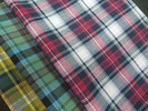 Cotton Yarn Dyed Check Flannel with Stretch