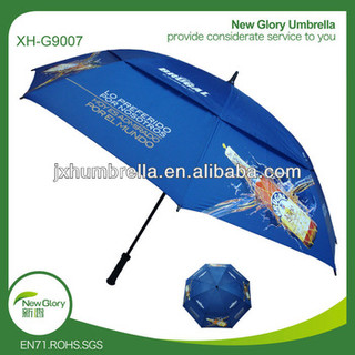 """golf umbrella,30""""*8K umbrella,Wind resistant umbrella,fibgrass golf umbrella."""