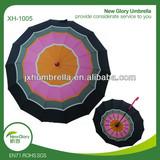 """23""""*14k automatic multi color umbrella/colored umbrella"""