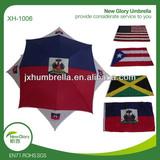 straight automatic nation flag umbrella/umbrella flag