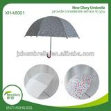 straight color changing umbrella/change color when wet umbrella