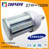 E27 E40 36W LED Street Corn Bulb Light 3600lm~3960lm Day light 110v-120v Waterproof IP65 (Replace Equivalent 252w Halogen Bulb)