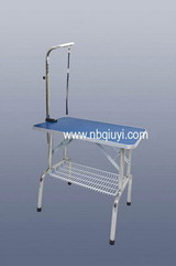 Stainless Steel PET Grooming Folding TABLE with Basket