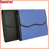 Succinct Black Blue Business File Bag For Promotional Gifts