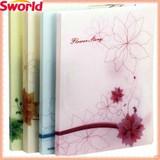 Fresh Flower Design PP Clip Files For Business Office Supply